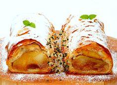 A Simplified Version Jewish Desserts, Jewish Recipes, Jewish Food, Caramelised Apples, Apple Strudel, Kosher Recipes, Apple Pear, Sweet Bread, Thanksgiving Recipes