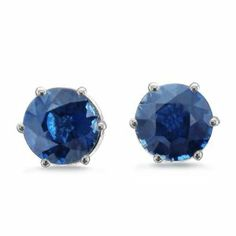 September Sapphire Birthstone Earrings by JewelDork www.dorkbrands.com