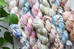Smart Buys! splash dye sari silk ribbon, recycled sari silk ribbon, hand dyed ribbon, sari silk ribbon, silk ribbon starting from $14.0 See more. 🤓 #SilkWeaving #SilkYarn #WeddingDiy #WeddingCraft #SilkRibbonSpool #SariSilk #WeddingFavorCraft #WeddingRibbon #yarn #macrame