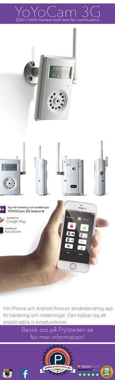 GSM Kameror även kallade MMS Kameror är övervakningskameror som du enbart behöver ett simkort till för att övervaka live med bilder.  #gsmkamera #gsm #kamera #övervakning #mobil #3G #mms #prylstaden