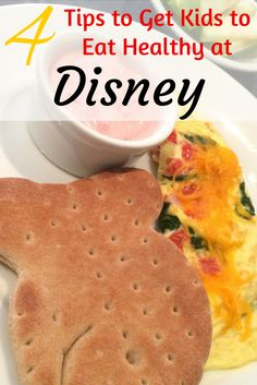 4 Ways for Kids to Eat Healthier at Walt Disney World: Tips and tricks for the best healthy and kid-friendly food options at Disney.