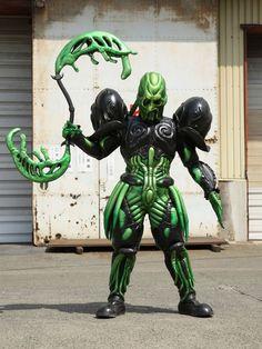 All Power Rangers, Garden Sculpture, Lion Sculpture, Kamen Rider Series, Hero, Halloween, Monsters, Color, Colour