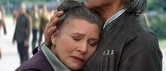 'Star Wars Episode 8': Did Carrie Fisher Just Reveal a Key Scene?  Lucasfilm was reluctant to reveal too much about the plot of  Star Wars Episode VIII    at Star Wars Celebration Europe , aside from the juicy tidbit that it'll pick up right where The Force Awakens  left off. But star  Carrie Fisher  may have let one other major detail slip about a certain key scene in the movie.Be warned potential spoilers for Episode VIII  are ahead — nothing too terribly major, but if you'd ra..