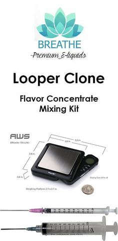 Candy Ingredients 159891: Looper Clone Flavor Concentrate Juice Mixing Kit 60, 120, 240Ml (Vg Pg Included) -> BUY IT NOW ONLY: $39.99 on eBay!