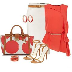 Ivory & Tangerine Love Lots