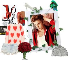 """""""Justin Bieber"""" by narnybieber ❤ liked on Polyvore"""