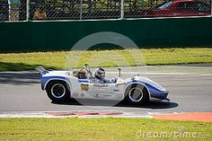 Classic Sports Car takes part in the FIA Masters race for the 2015 Intereuropean historic cup event at Monza Circuit.