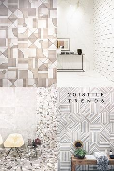 A round up of tile trends to watch out for 2018 from the last Cersaie 2017, the International Fair of Ceramic Tile and Bathroom Furnishings