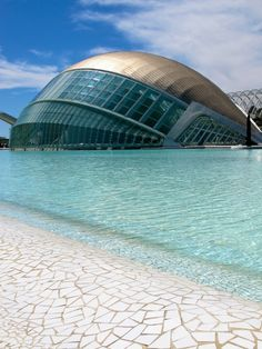 The City of Arts and Sciences, Valencia, Spain