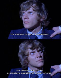 Alex DeLarge. A Clockwork Orange.