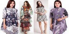 Model Baju Batik Gamis Terbaru 2017  Fashion  Pinterest  Model