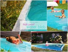 how to make a leak-proof water blob