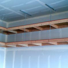 Charmant Garage Overhead Mightyshelves Alternative Hardware Methods
