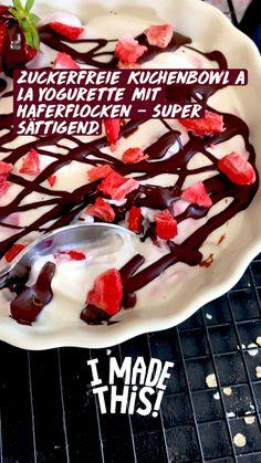 Healthy Sweet Snacks, Healthy Sweets, Healthy Baking, Good Food, Yummy Food, Dessert Drinks, Perfect Breakfast, Food Humor, Low Carb Desserts