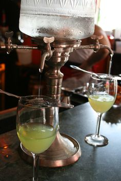 Absinthe at the Pirate Bar, New Orleans (Photo by Dave Lacy) #absinthe #ritual