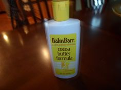 Balm Barr Hand & Body Lotion Cocoa Butter Formula By Mennen, 8 fl. oz, 40% Full #BalmBarrByMennen