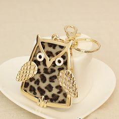 Fashion Wholesale Black Owl Shining Accessories  Item Code:#LG111+Black  US$10.10