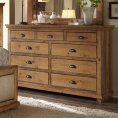 Willow Distressed Pine Drawer Dresser Progressive Furniture At Lindys Furniture Company throughout dimensions 1412 X 1412 Pine Bedroom Dressers - If it Pine Dresser, 8 Drawer Dresser, Dresser With Mirror, Rustic Dresser, Farmhouse Dressers, Large Dresser, Solid Wood Dresser, Wood Chest, Mirror Set