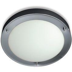 Light Bathroom Ceiling Philips 31.5cm Chrome Circ Qcz802ch