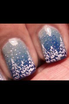 Winter Wonderland Nails