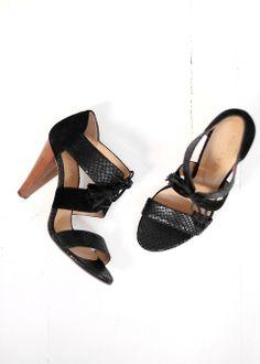 Sézane / Morgane Sézalory - High Ulysse -Collection spring 2014 Taroudant www.sezane.com #frenchbrand #sandals