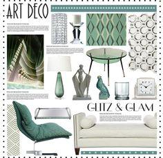 """Glitz & Glam: Art Deco Polyvore Contest #3"" by hmb213 on Polyvore"