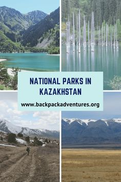 Backpacking Kazakhstan: This post is about the best National Parks in Kazakhstan to visit for the independent budget traveller Travel Guides, Travel Tips, Travel Goals, Travel Packing, Travel Advice, Kazakhstan Travel, Central Asia, Brunei, Asia Travel