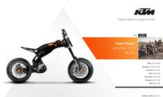 KTM Triks by Cyril Mathieu, via Behance