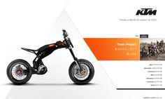 KTM Triks by Cyril Mathieu, via Behance