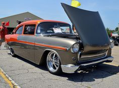 1955 Chevy Bel Air. Find parts for this classic beauty at http://restorationpartssource.com/store/