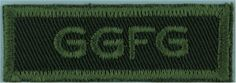 GGFG (Governor General's Foot Guards)(Canadian Army) Green On Olive Non-British Army shoulder title for sale Canadian Army, British Army, Commonwealth, Armed Forces, Army Green, Empire, Military, Shoulder, Special Forces