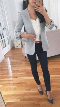 Casual women work outfits for winter. Business Casual Outfits For Work, Smart Casual Outfit, Stylish Work Outfits, Outfits Casual, Winter Outfits For Work, Mode Outfits, Work Casual, Women Business Casual, Casual Office