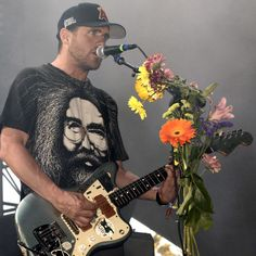 INDIO, CA - APRIL Jesse Lacey of Brand New performs during the 2015 Coachella Valley Music And Arts Festival at The Empire Polo Club on April 2015 in Indio, California. (Photo by Tim Mosenfelder/WireImage) New Bands, Rock Bands, Jesse Lacey, Brand New Lyrics, Brand New Tattoos, Indio California, Coachella Valley, Band Tattoo, Polo Club