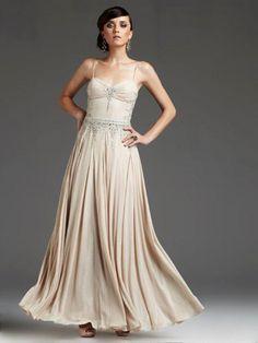 Vintage Prom Dresses - Vintage Style Gowns - Seventeen  Gorgeous beadwork