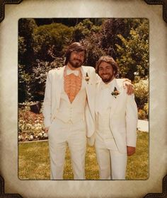 Look at the handsome young men that started it all!!! We ♥ you guys!!! :>)) — with Steve Jobs and Steve Wozn