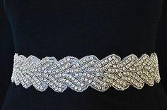 Vintage inspired bridal belts x
