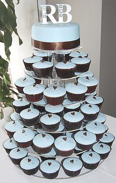 Wedding cupcakes! Love!