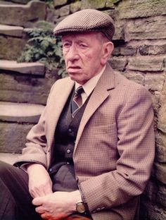 Last of the Summer Wine - Wally Battye.. Norah's long suffering husband who died early on in the series. The spectacle of him on the motorbike and her in the sidecar telling him what to do always guaranteed a belly laugh.