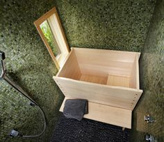 Ryokan (Japanese Guest House) Interior - asian - bathroom - chicago - Daedal Woodworking