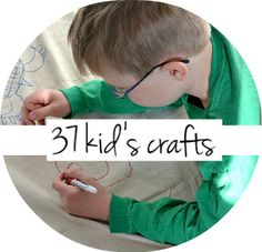 37 kids crafts