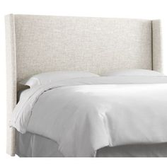 Check Out This Item At One Kings Lane Novak Upholstered Headboard Talc Beds Headboards Pinterest Products And