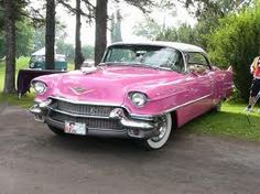 My Dad & Grandpa had a pink Caddy just like this but a shade lighter- brings back old memories