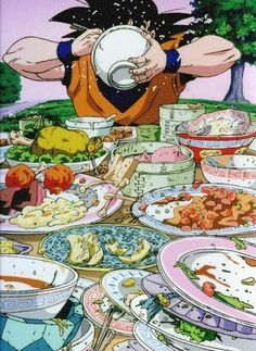 You know your a nerd when you see a pic of goku eating and know where he is lol (king kai's)