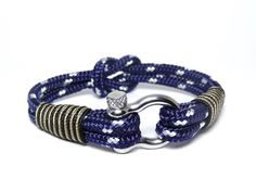 Nautical bracelet/Sailor Bracelet/Mens bracelet/mens anchor