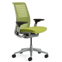 First introduced in 2004, Steelcase's original Think chair was a pioneer of innovation and environmentally friendly design.