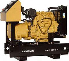 Groupes électrogènes diesel -13.5 kVA-GEP13.5-Eneria-Cat