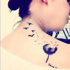 Tattoo de Dente de Leão