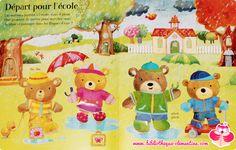 J'habille les oursons pour l'école par Felicity Brooks