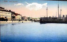 Jetty Bellona, Pula, 1915. Austro Hungarian, Pula, Paris Skyline, Painting, Travel, Viajes, Painting Art, Paintings, Destinations