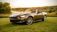The Fiat 124 Spider is back after a more than 30-year absence, based on the current Mazda Miata MX-5. Those who have actually been in the old 124 Spider may remember it as a ...
